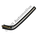 Bumper trim 240 LH front (stainless)