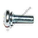 Screw for vacuum chamber lid, Stromberg CD (genuine, incls lock washer)