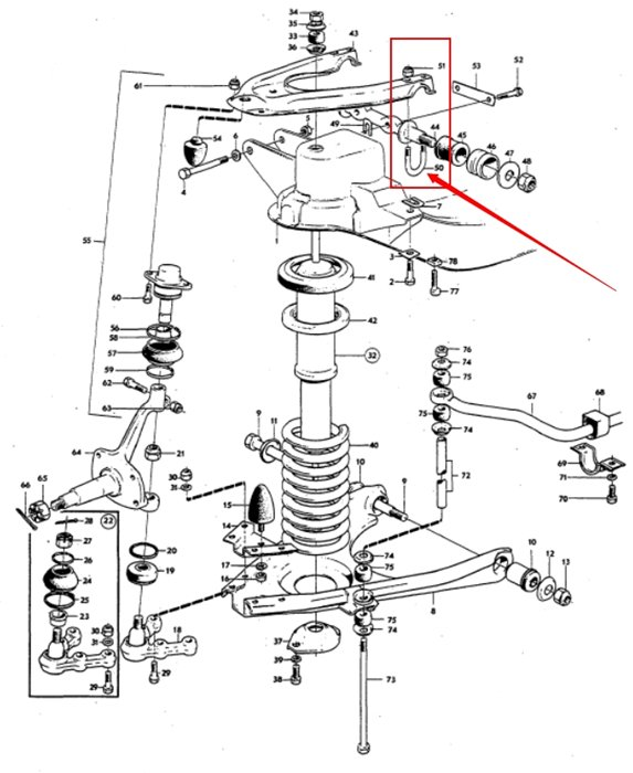 volvo xc60 front suspension diagram