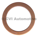 Copper gasket, oil drain plug (4 cylinder engine)