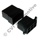 Connector box (complete) black