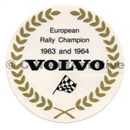 "Decal ""European Rally Champion"""